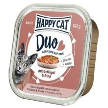 Happy Cat Duo Menu Geflügel & Rind 100 g