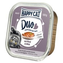 Happy Cat Duo Menu Rind & Wild 100 g