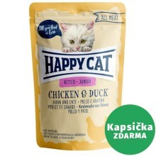 Happy Cat All Meat kapsička Junior Huhn & Ente 85 g