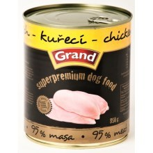 Konzerva Grand Superpremium Chicken 850 g