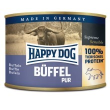 Happy Dog Premium konzerva Büffel Pur 800 g