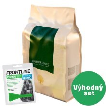 Výhodný set Essential Foods Superior Living Small Breed 3 kg+Frontline Combo M