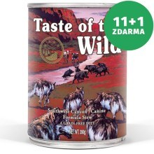 Taste of the Wild Southwest konzerva 390 g 11+1 ZDARMA