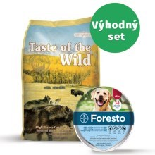 Taste of the Wild High Prairie Canine 13 kg + Foresto 70 obojek pro psy
