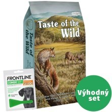 Výhodný set Taste of the Wild Appalachian Valley 6 kg + Frontline Combo S