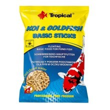 Tropical Koi-Goldfish Basic Sticks 1000 ml sáček