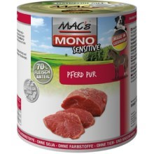 Konz. MACs Dog Mono Sensitive koňské 400 g