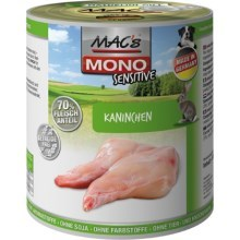 Konz. MACs Dog Mono Sensitive Králík 400 g
