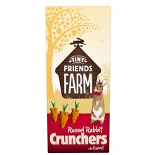 Supreme Tiny FARM Snack Russel Crunchers - králík 120 g