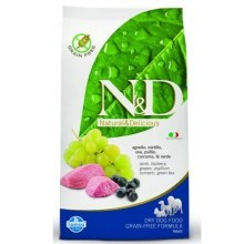 N&D Grain Free Dog Adult Lamb & Blueberry 800 g