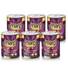 Marp Holistic Dog konzerva MIX Lamb & Vegetable 6 x 400 g