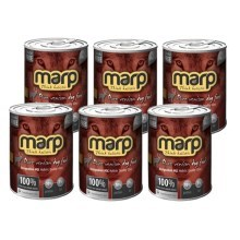 Marp holistic Pure Venison Dog Can Food 6x 400 g