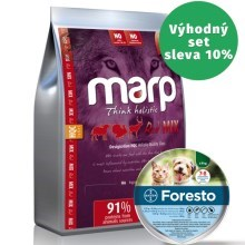 Marp Holistic Red Mix Grain Free 2 kg + obojek Foresto 38 cm