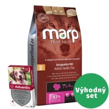 Výhodný set Marp Holistic Turkey SAN Grain Free 12 kg + Advantix 10-25 kg