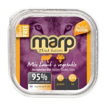 Marp Holistic Dog vanička Mix Lamb & Vegetable 100 g
