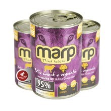 Marp Holistic Dog konzerva MIX Lamb & Vegetable 400 g