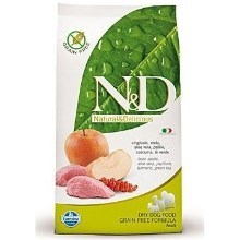 N&D Grain Free Dog Adult Mini Boar&Apple 2,5 kg