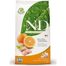 N&D Grain Free Dog Adult Mini Fish&Orange 2,5 kg