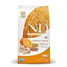 N&D Low Grain Cat Adult Codfish&Orange 1,5 kg