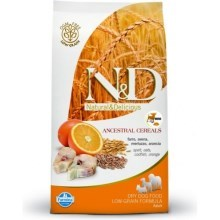 N&D Low Grain Dog Adult Mini Codfish & Orange 800 g