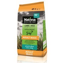 Nativia Adult Maxi Lamb & Rice 15 kg