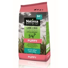Nativia Puppy Lamb & Rice 3 kg