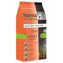 Nativia Cat Adult Duck&Rice Hairball 10 kg