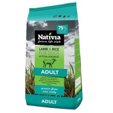 Nativia Adult Lamb & Rice 15 kg
