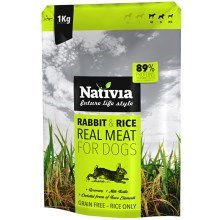 Nativia Real Meat Rabbit & Rice1 kg