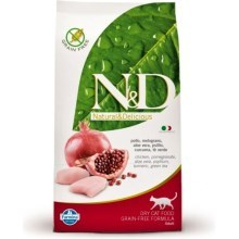 N&D Grain Free Cat Adult Chicken&Pomegranate 1,5 kg