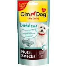 Gimdog Nutri Snack Dental 2v1 mini kostičky 40 g