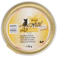 Filetky Catz Finefood No.407 kuře a telecí 85 g