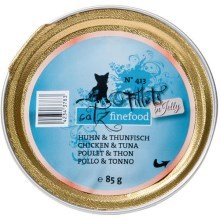 Filetky Catz Finefood No.413 kuře a tuňák 85 g