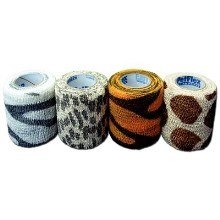 Obinadlo elast. Pet-Flex 5cmx4,5m zebra mix