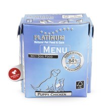 Platinum Natural Menu Puppy kuře 375 g