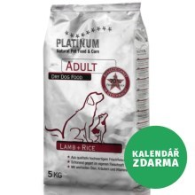 PLATINUM Natural ADULT Lamb 15 kg