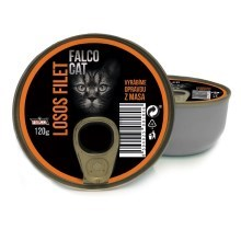 Konzerva Falco Cat Filet z lososa 120 g
