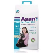 Podestýlka Asan Cat Fresh Blue 10 l/2 kg