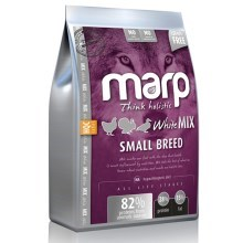 Vzoreček krmiva Marp Holistic White Mix Small Breed 80 g