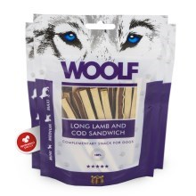Woolf Soft Lamb & Cod Sandwich Long 100 g