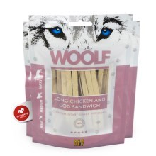 Woolf Soft Chicken & Pollock Sandwich Long 100 g