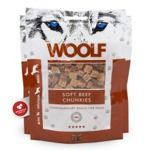 Woolf Beef Chunkies 100 g