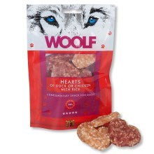 Woolf Hearts of Duck or Chicken & Rice 100 g
