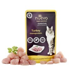 Nuevo Cat kapsička Sensitive Turkey Monoprotein 85 g