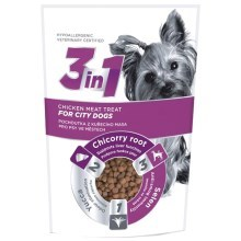 3in1 pochoutka Dog City kuřecí 100 g