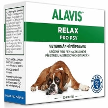Alavis Relax pro psy 150 mg 20 cps