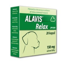 Alavis Relax pro psy 150 mg 80 cps