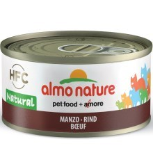 Almo Nature HFC Cat hovězí 70 g