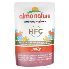 Almo Nature HFC Cat Jelly Tuňák a krevety 55 g