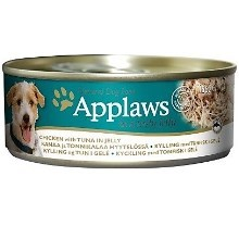 Applaws konzerva Dog Jelly Chicken with Tuna 156 g